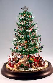 beaded miniature christmas tree beadwork pinterest miniature