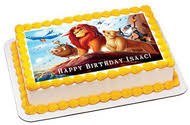 lion king cake toppers lion king 2 edible birthday cake topper