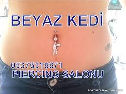 gobek piercingi göbek piercing takanlar piercing salonu beyaz kedi sanat
