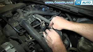 how to install replace fuel pressure regulator 5 3l 2003 04 gmc