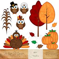 thanksgiving leaves clipart instant download digital clip art thanksgiving clipart