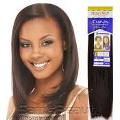 clip on hair synthetic clip on weave vivica fox yaky clip 9pcs samsbeauty