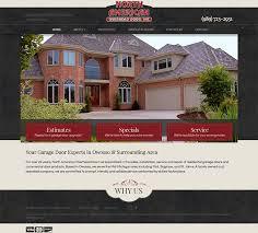 Overhead Door Michigan Garage Door Seo And Website Design Search Engine Marketing For