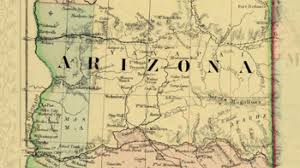 map of az map of arizona and new mexico 1867 special collections