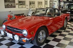 Tr6 Interior Installation Classic Cars Ltd Pleasanton California U003c U003c