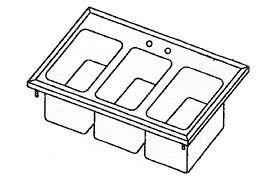 3 compartment sink faucet 3 compartment bar sink restaurant bar sinks