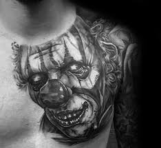 75 clown tattoos for performer design ideas