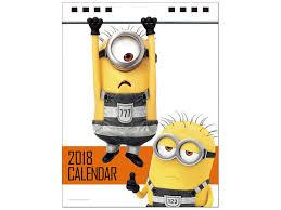 minion desk calendar 2017 desktop despicable me 3 2018 calendar by try x hobbylink japan