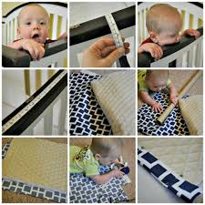 Mini Crib Bumper Pattern by Why Diy Crib Rail Covers Are Better