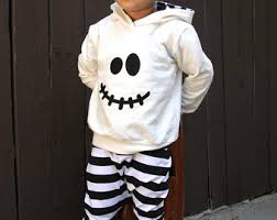 Halloween Costumes Etsy Ghost Hoodie Toddler Ghost Costume Baby Ghost Costume