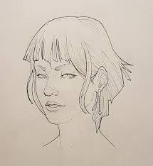 bruno tonello head structure practice and some quick sketches