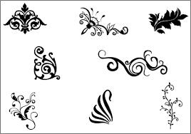Decorative Line Clip Art 12 Decorative Line Vector Art Images Decorative Flourishes Free