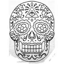 sugar skull design template 28 images 17 best images about