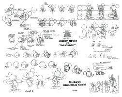 the illusion of life mickey mouse sketches
