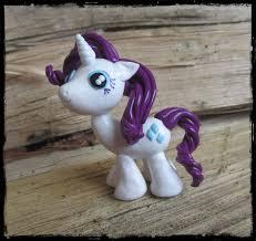 rarity unicorn my pony fan figurine in polymer clay