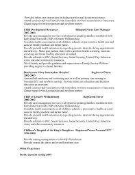 Resume For Charge Nurse Tiffany Ruehl Callis Resume 2015