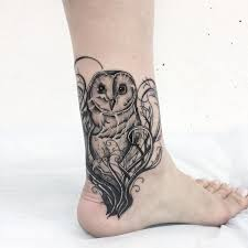 Owl Tattoos - owl meaning and designs ideas baby owl