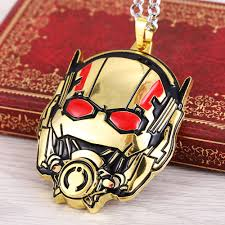 man charm necklace images Hot movie ant man jewelry pendants gold figure charm necklaces jpg