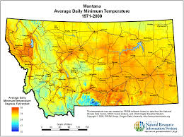 Montana Weather Map montana maps