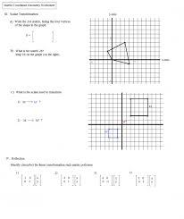 translation rotation and reflection worksheets exponents printable
