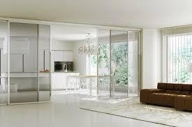 separation en verre cuisine salon separation de cuisine en verre amazing cloison coulissante vitr e