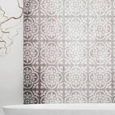 valencia tile stencil mediterranean spanish moorish wall
