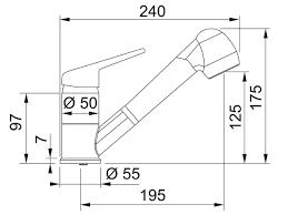 design kã chenarmatur franke esprit hochdruck ka 1 4 chenarmatur aus massiven edelstahl