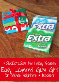 give extra gum creative way to give gum as a gift