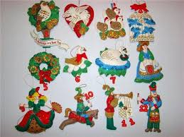 12 days of ornaments to make rainforest islands ferry
