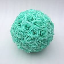 teal roses 100pcs light teal green silk roses flowers roses for pomander