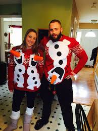 olaf ugly sweater olaf couples ugly sweater pinterest olaf