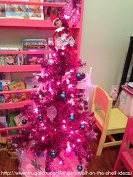 elf on the shelf ideas elf decorates the christmas tree