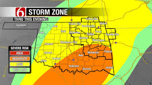 Tulsa Map All Modes Of Severe Weather Possible In Eastern Oklahoma Friday