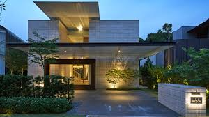 zen courtyard contemporary home in singapore inspired by the