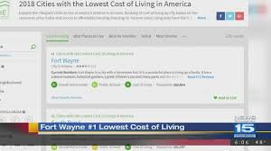 which state has the lowest cost of living summit city ranked 1 for cost of living wane