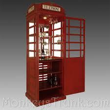 Red Phone Booth Cabinet Bar Cabinet U2013 Monkey U0027s Trunk