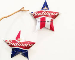 budweiser can etsy