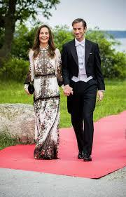 Middleton Pippa Pippa Middleton And James Matthews Attend Stockholm Wedding See