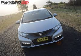 honda civic hatchback modified 2012 honda civic vti s hatch review video performancedrive