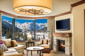 squaw valley lodging resort at squaw creek fireplace suites