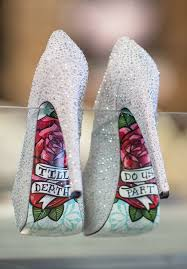 Wedding Shoes Online Uk The Perfect Sparkly Silver Wedding Shoes Till Death Do Us Part