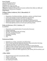 Sample Architect Resume 16 Free Sample Junior Architect Resumes U2013 Sample Resumes 2016