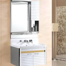 outstanding stainless steel bathroom cabinet stainless steel
