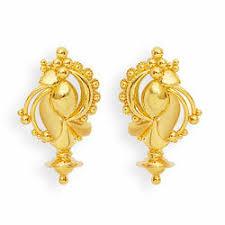 3 gram gold earrings gold earrings in jalandhar punjab sone ki baliyan manufacturers