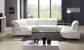 canap panoramique design canapé d angle design en cuir blanc chez http items com