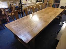 12 Seater Oak Dining Table 100 Best Oak Furniture Images On Pinterest Table And Chairs