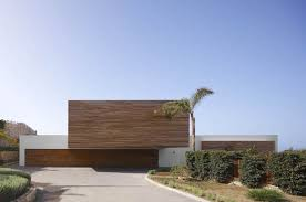 modern style wood architecture