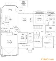 landon homes floor plans edge homes olivia 2409 floor plans and exteriors pinterest