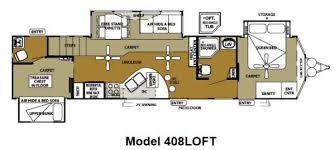 destination trailer floor plans new forest river rv wildwood grand lodge 408loft destination trailer