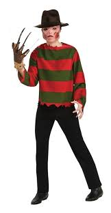 Ms Krueger Halloween Costume Freddy Krueger Shirt Mask Teen Costume Halloween Costume